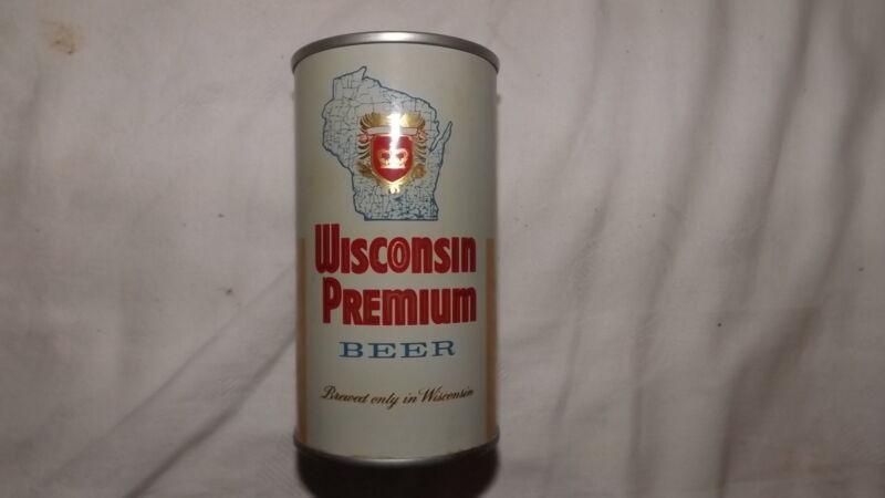 Vintage Wisconsin Premium Beer Can Steel am