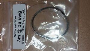 3 metre @ 36swg - hot wire polystyrene/foam cutter - Nichrome resistance wire