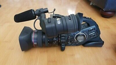 Canon XL H1 Camcorder -  Black (With Lens) - Shipping US only