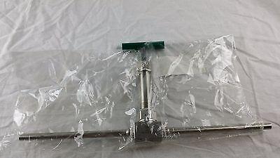 Swagelok Stainless Steel Bellows-sealed Valve 38 Tube Stub Ss-6uw-tn6