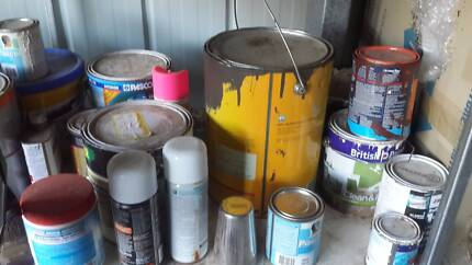 Painting supplies house