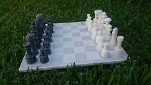 Solid Marble Chess Set Mascot Rockdale Area Preview