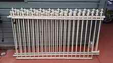 Steel Wrought Iron Fencing 3 x 2100mm lengths Bankstown Bankstown Area Preview