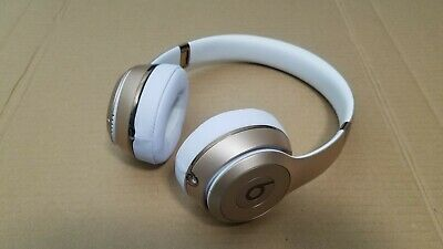 Beats by Dr. Dre Solo3 Wireless On the Ear Headphones - Gold with new pads