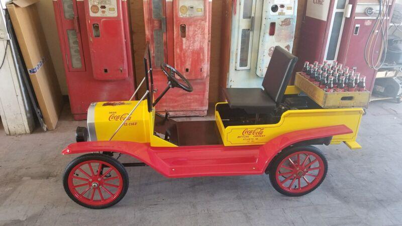 Coca Cola Mini Parade Car (Fully Restored)
