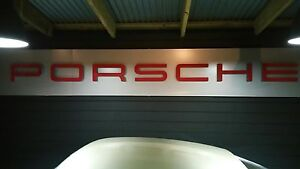 PORSCHE SIGN METAL Pearsall Wanneroo Area Preview
