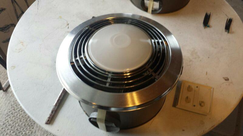 Nutone 9093n bathroom exhaust fan w/heater and light