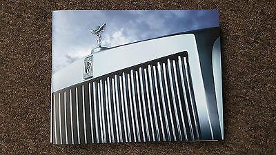 Rolls Royce Phantom '7' (Series 2) Family Hardback Sales Brochure 131pgs
