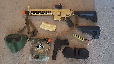 Agm Metal - Airsoft Bundle Gun AGM Full Metal 614 Custom Starter Lot Krytac KWA Price Drop!!