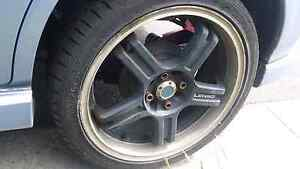 17x7  4x100 and 4x114.3 wheels Clayton South Kingston Area Preview