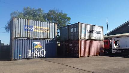 20FT Shipping Container: EX South Windsor $1950 Plus GST South Windsor Hawkesbury Area Preview