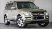 2015 Mitsubishi Pajero NX Exceed 4WD Gold Port Kennedy Rockingham Area Preview