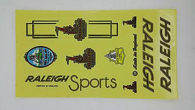 RALEIGH STICKER FOR VINTAGE BICYCLE BIKE RALEIGH DECALS SET STICKER