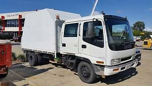 1997 Isuzu FRR 500 Dual Cab Chipper/Tipper Truck Bellbird Park Ipswich City Preview