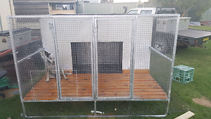 2 bay Dog Cage Coolah Warrumbungle Area Preview