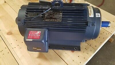 Leeson 811608.00 Ac Motor 15 Hp 4200 Rpm 254tc Fr 230460 Vac 3 Ph 60 Hz