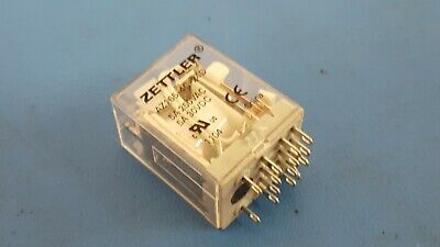 Power Relay 24v 5a Zettler Az165-4c-24d 4pdt 14 Pin