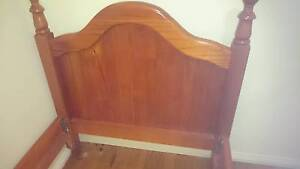 Single wooden bed. Great condition Dapto Wollongong Area Preview