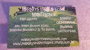 Marneys Yard & Home Maintenance Newcastle Newcastle Area Preview