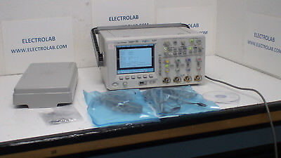 Agilent Mso6054a 500 Mhz 4 16 Ch 4 Gsasec 1 Mpt Memory Mixed Signal Scope