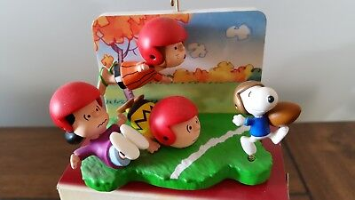 Hallmark Peanuts Touchdown Snoopy The Peanuts Gang Christmas Ornament w/Box  for sale  Saint Augustine