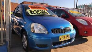 2004 Toyota Echo 5 Door Hatch ! Fully Serviced ! Very Low Kilometres ! Granville Parramatta Area Preview