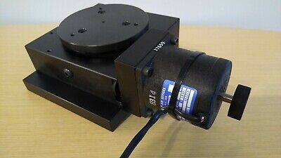 Aerotech Ars 304 Precision Rotary Stage W Eastern Air Devices Stepping Motor