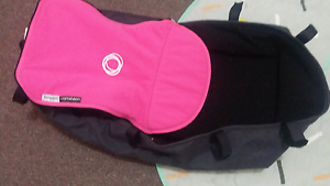 Bugaboo cameleon pink fleece cover set and bassinet Frankston Frankston Area Preview