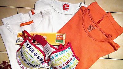 Mädchen Kleidung Shirts BH neu Gr. 146/152 H&M C&A Unterwäsche Shirt Kindermode, gebraucht gebraucht kaufen  Crostwitz