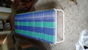 Folding cot, used once, pet-free & smoke-free home, $40