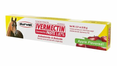 Durvet Apple Horse Paste Dewormer 1.87% (single tube)