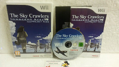Jeu Vidéo The Sky Crawlers Innocent Aces Wii U Complet Namco Anime Oshii Rare