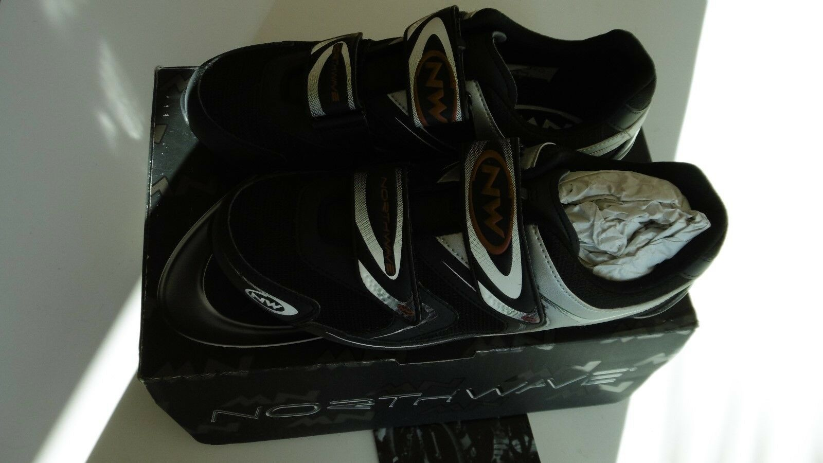 Northwave Spike Black Shoes Size 44 New In Box