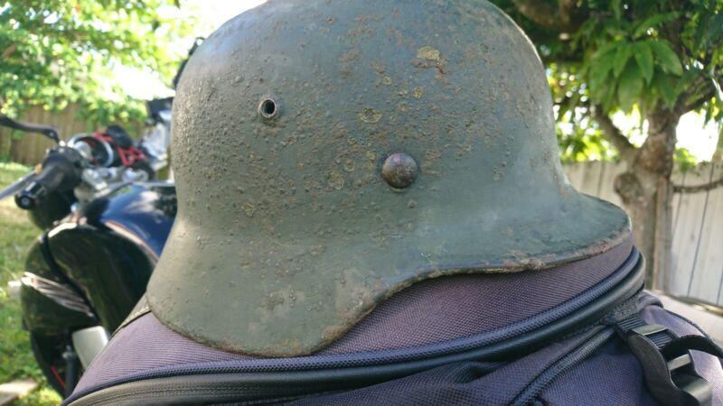 original german m35 helmet with liner