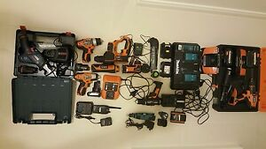 Cordless power tools heavy duty tradies industrial costruction Canning Vale Canning Area Preview