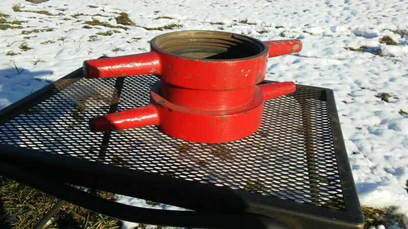 Vintage 5 1/2 inch Fire Hose Connector Swivel Mounting Bracket
