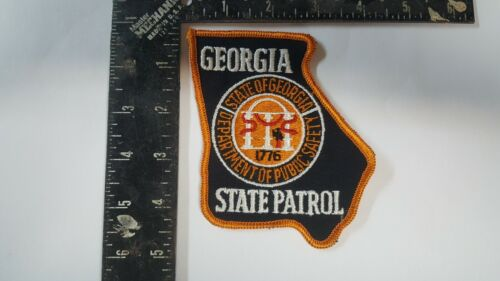 Vintage Georgia State Patrol Public Safety Patch