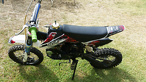 Pit Bike & helmet For sale Albany Creek Brisbane North East Preview
