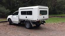 2007 Toyota Hilux 4WD Ute KUN-26R 4x4 Automatic with Camper Miranda Sutherland Area Preview