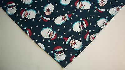 Dog Bandana/Scarf Tie On Christmas Santa Custom Made by Linda  XS S M L xL