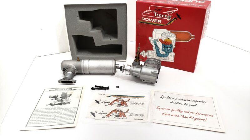 SuperTigre GS 45 ABC R/C Engine Silent Muffler READ DESCRIPTION