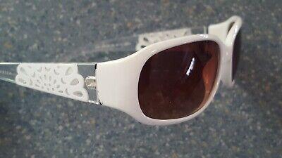 Elle White Lattice Flower Wrap  Designer Look Sunglasses (Elle Sunglasses)