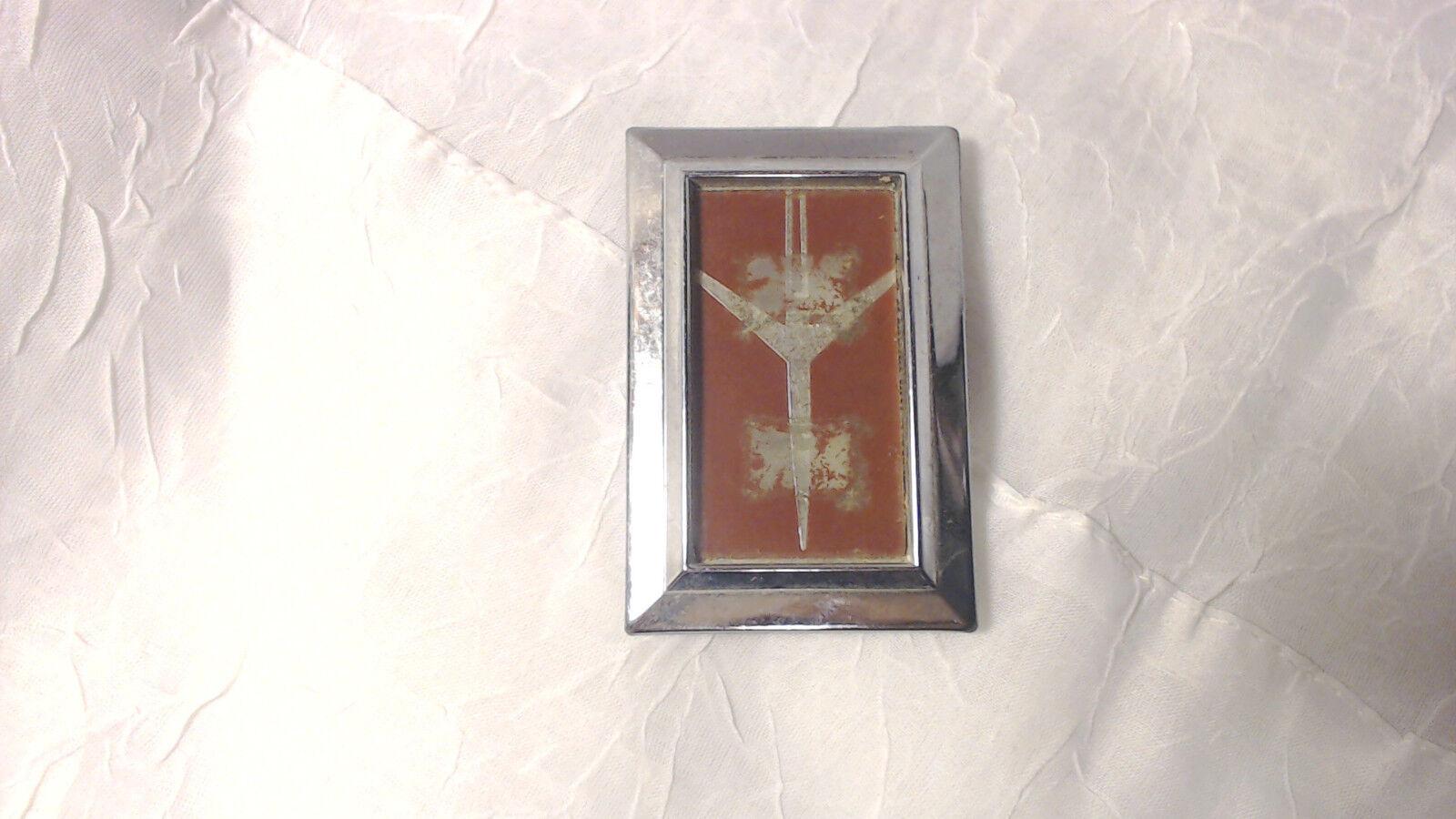 Oldsmobile red rocket emblem part number 790613-3