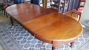 Antique dining room table.