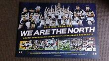 NORTH QLD COWBOYS 2015 NRL PREMIERS LIMITED EDITION SPORTS PRINT Ipswich Ipswich City Preview