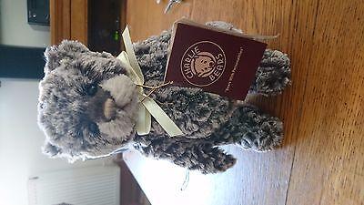 Charlie Bear Briz collectable plush jointed teddy bear