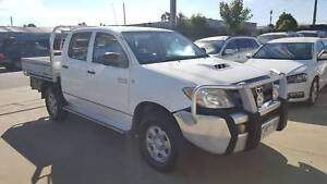 2007 Toyota Hilux Duel Cab Tray Ute TURBO DIESEL 4X4 Williamstown North Hobsons Bay Area Preview