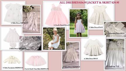 Bebe by Minihaha Special Occasion Lux Girls Dresses NEW WITH TAG