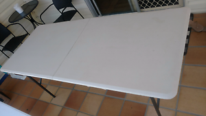 Camping Table & Bench Seat $50 Belmont Lake Macquarie Area Preview