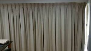 Curtains - Cream/Beige Colour - Over 8 metres in Length